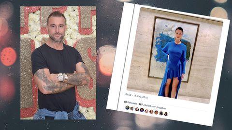 Designer Philipp Plein und Journalistin Alexandra Mondalek