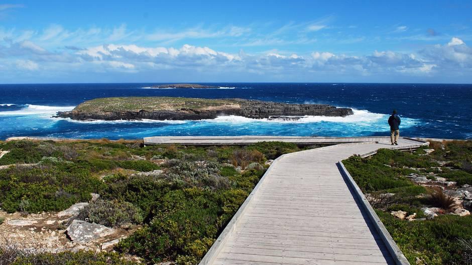 Cape du Couedec im Südwesten von Kangaroo Island: Die 4000 Quadratmetergroße Insel gehört zum Bundesstaat South Australia und hat eine 500 Kilometer lange Küstenlinie.