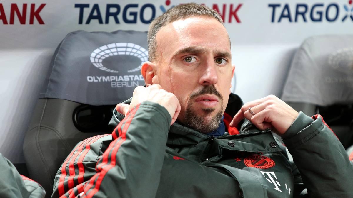 """""""F**** eure Mütter"""": Das sagt Franck Ribéry zum """"Goldsteak-Gate"""" – und zu seiner sportlichen Zukunft"""