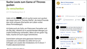 Ebay Kleinanzeigen Game of Thrones Hamburg
