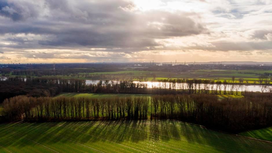 Deutschland-Wetter Landschaft