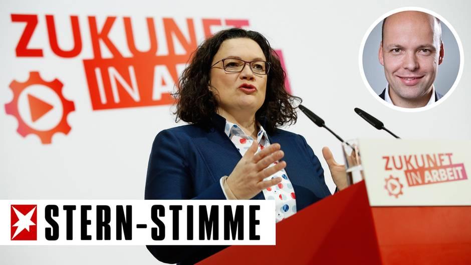 SPD-Chefin Andrea Nahles
