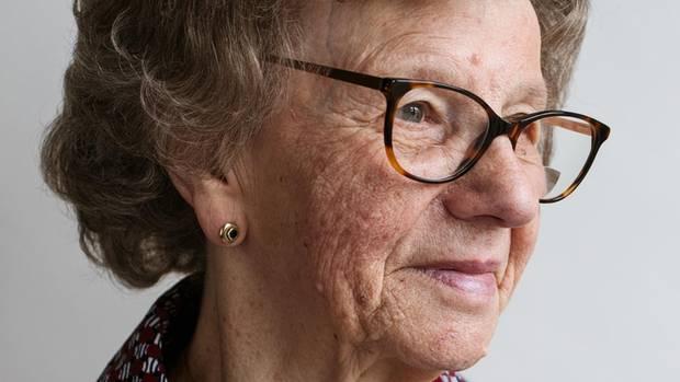 Anna Szymiczek, 84, kam als Vertriebene aus Oberschlesien nach Fürth und arbeitete dort als Hauswirtschafterin.