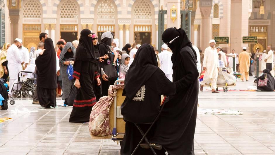 In Saudi-Arabien leben Frauen deutlich eingeschränkter