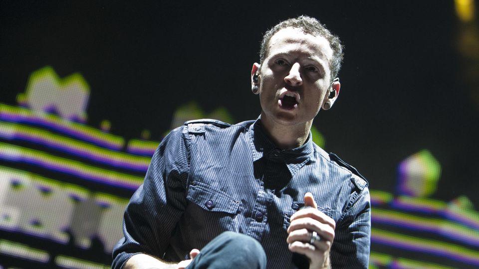Chester Bennington bei einem der letzten Linkin Park-Konzerte