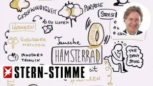 """Diese Sketchnote-Zeichnung entstand beim Barcamp zum Thema """"New Work"""""""