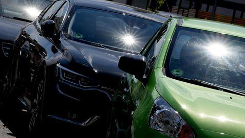 Ein Rentner in Siegburg betätige sich als Vandaleund zerkratzte eifrig Autos