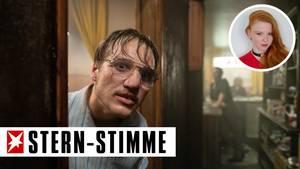 """Jonas Dassler als Fritz Honka in Films """"Der goldene Handschuh""""."""