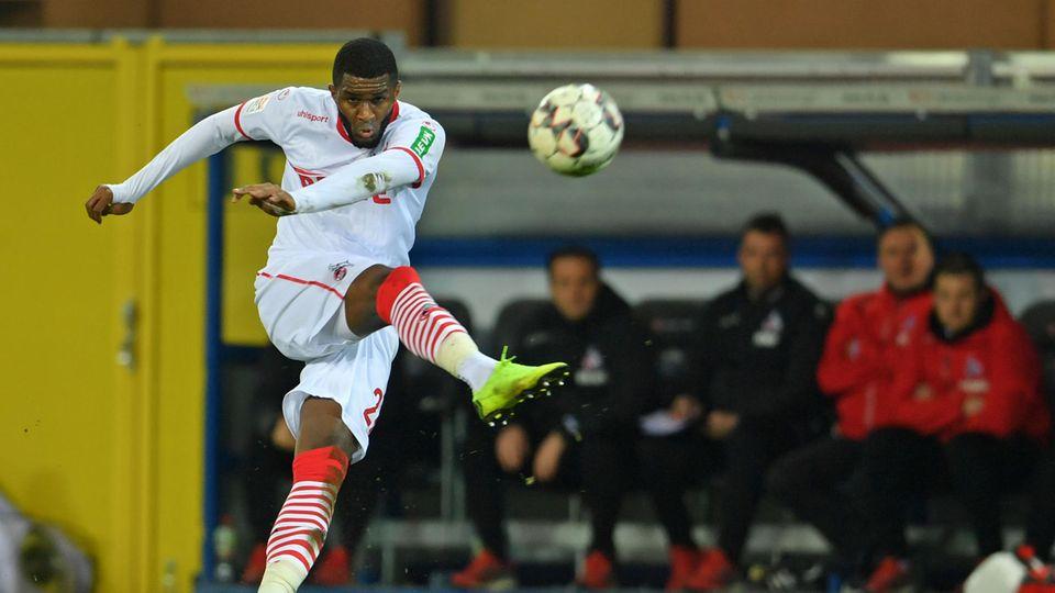 Anthony Modeste darf endlich wieder für den 1. FC Köln spielen und treffen