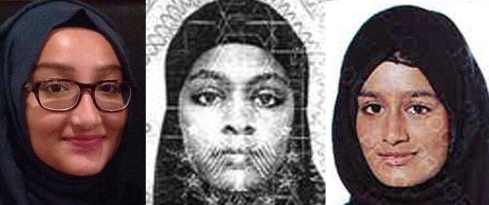IS-Frauen aus London