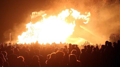 In Norderstedt bei Hamburg soll nun die Anzahl der Osterfeuer deutlich eingeschränkt werden, fordern die Grünen