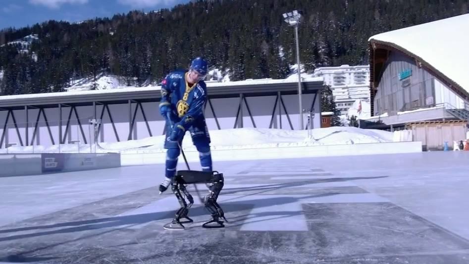 Entwicklung aus der Schweiz: Roboter aus dem 3D-Drucker lernt selbstständig Schlittschuhfahren