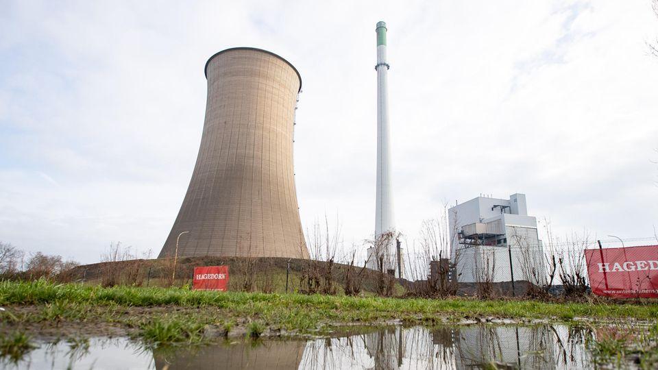 """Kraftwerk """"Gustav Knepper"""" vor der Sprengung"""