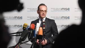 IS-Kämpfer in Syrien: Außenminister Maas hält Trump-Forderung für schwer realisierbar