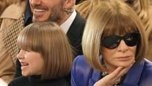 Harper Beckham Anna Wintour