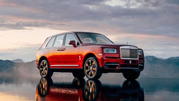 Der Cullinan beweist: Auch die Superreichen wollen liebend gern SUV fahren.