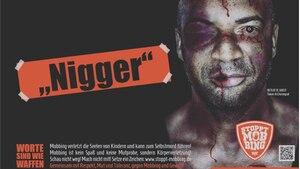 Erschreckendes Foto: Plakatmotiv von Detlef D! Soost gegen Mobbing