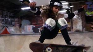 Lilly Stoephasius (11) ist im Skaten ein echtes Ausnahmetalent.