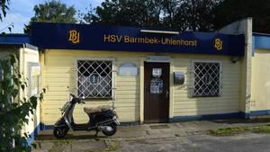 Die Geschäftsstelledes Hamburger Fünftligisten HSV Barmbek-Uhlenhorst (Archivbild)