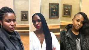 Immer mehr Fotos mit der Mona Lisa