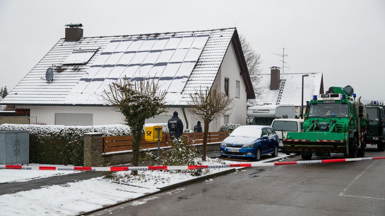 In diesem Haus im bayerischen Schnaittach trug sich die grausige Tat Ende 2017 zu