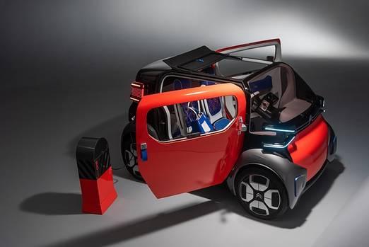Citroen Ami One Concept - wiegt 450 kg