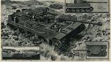 Britisches Schaubild der deutschen Panzerkampfwagen VI