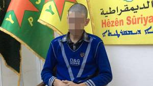 """Der deutsche IS-Kämpfer """"Nihad"""" - wahrscheinlich Martin Lemke"""