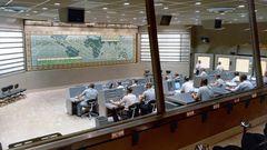 Das Mercury Control Center (MCC) in Cape Canaveral in Florida überwachte zwischen Mai 1961 und März 1965 sieben bemannte Weltraumflüge der Gemini-Ära. Später übernahm das Kontrollzentrum in Houston die Funktion für das Apollo-Programm.