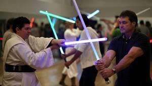 Star Wars für alle: Lichtschwertkampf offizieller Sport