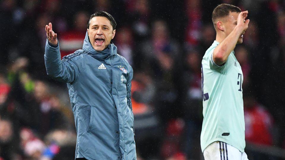 Keiner darf über die Mittellinie: Niko Kovac an der Anfield Road