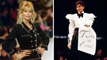 Claudia Schiffer und Ines de la Fressange für Chanel