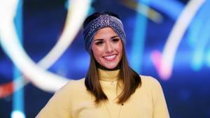 "Sarah Lombardi während der Sat.1-Show ""Dancing On Ice"""