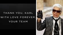 Abschied von Karl Lagerfeld