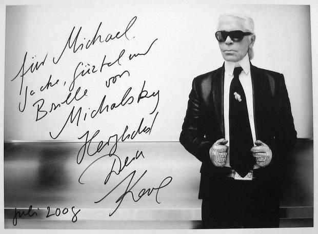 Karl Lagerfeld Michael Michalsky