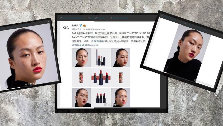 Mit dieser Kampagne sorgte Zara in China für Unmut