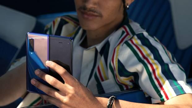 Galaxy Fold: So stellt sich Samsung die Zukunft des Smartphones vor