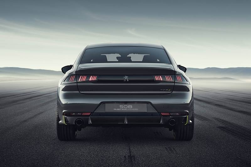 Concept 508 Peugeot Sport Engineered Neo-Performance - 294 kW / 400 PS
