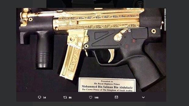 MP5K für Mohammed bin Salman