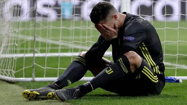 Ronaldo im Spiel gegen Atletico Madrid