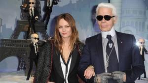 Vanessa Paradis und Karl Lagerfeld