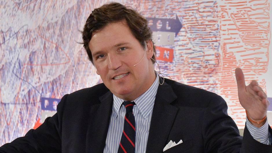 Fox-News-Moderator Tucker Carlson