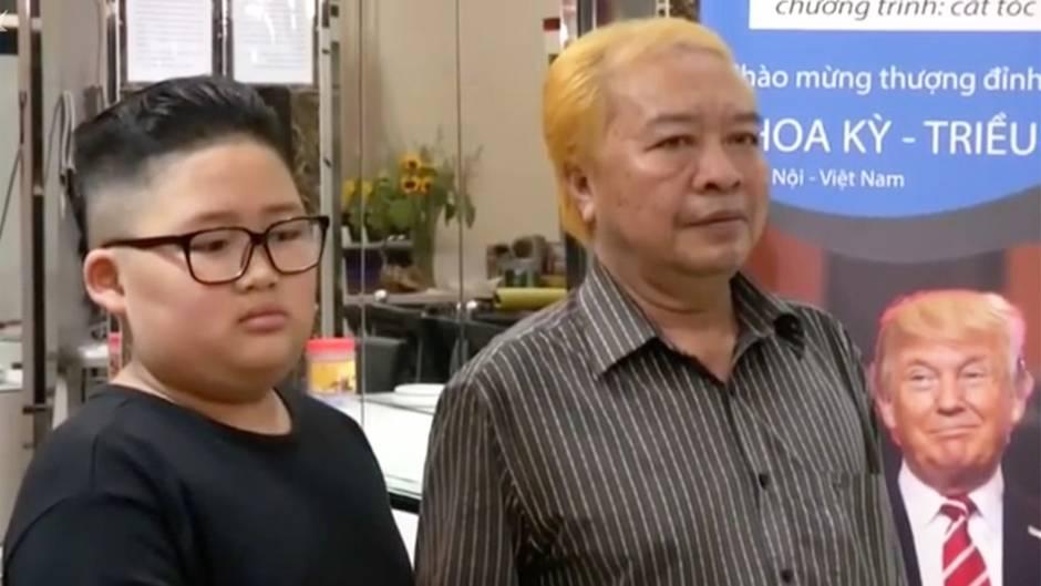 Gipfeltreffen in Hanoi: Friseur schneidet Trendfrisuren für lau – aber die Sache hat einen Haken