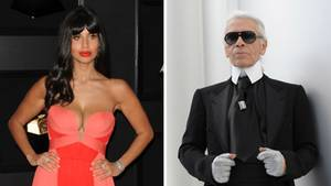 Jameela Jamil kritisiert Karl Lagerfeld