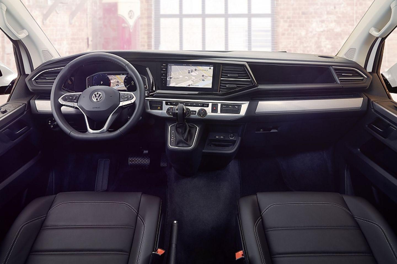 Das neue Cockpit des VW T6 Modellpflege 2020
