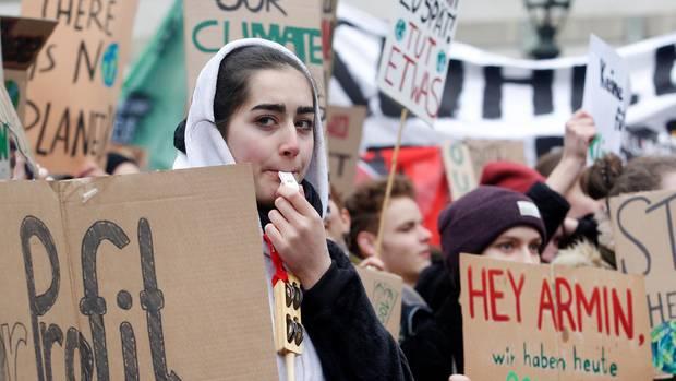 Klimaprotest Schüler