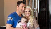 Vip News: Daniela Katzenberger und Lucas Cordalis mit ihrer Tochter im Arm