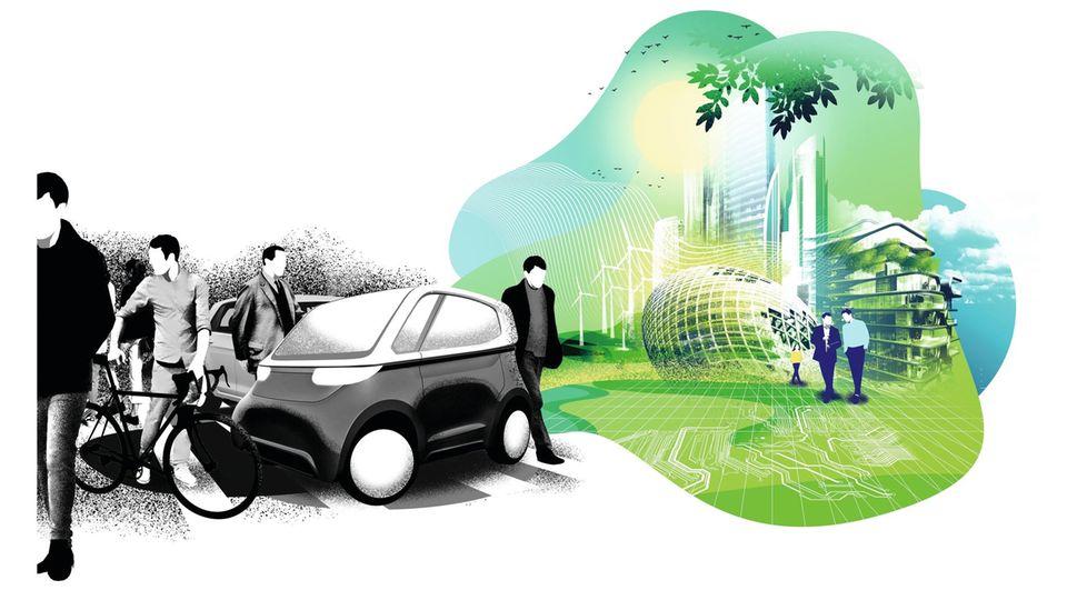 Unsere Citys sind autogerecht. Sie sollten menschengerecht sein. Mit weniger Lärm, weniger Dreck – und mehr Platz zum Wohnen.