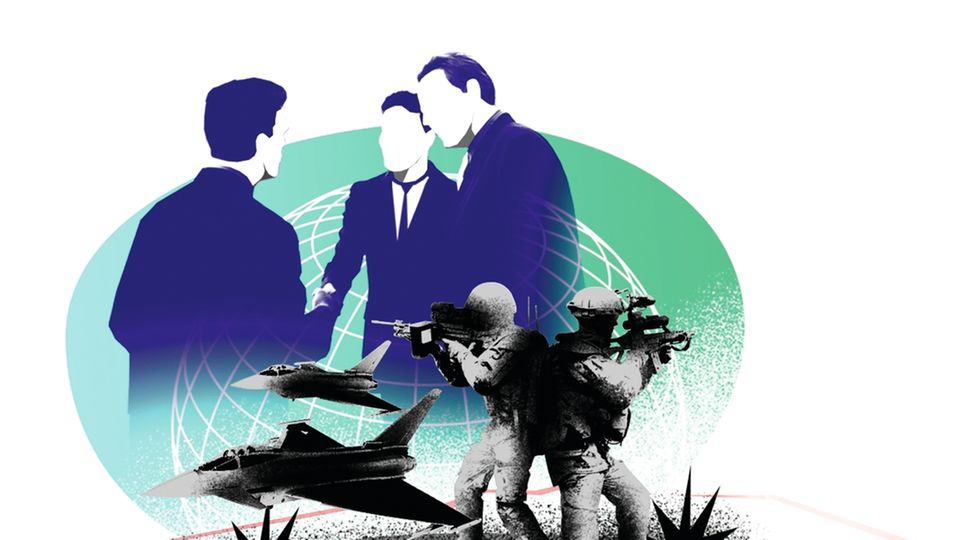 Angriffskriege und Völkermorde könnten womöglich der Vergangenheit angehören – wenn die Weltgemeinschaft das Gewaltmonopol hätte