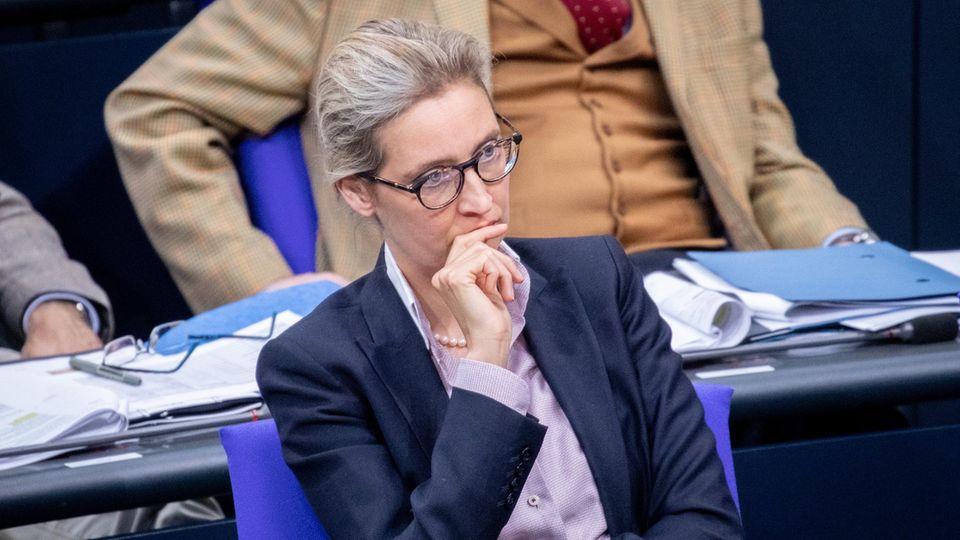 Alice Weidel im Bundestag
